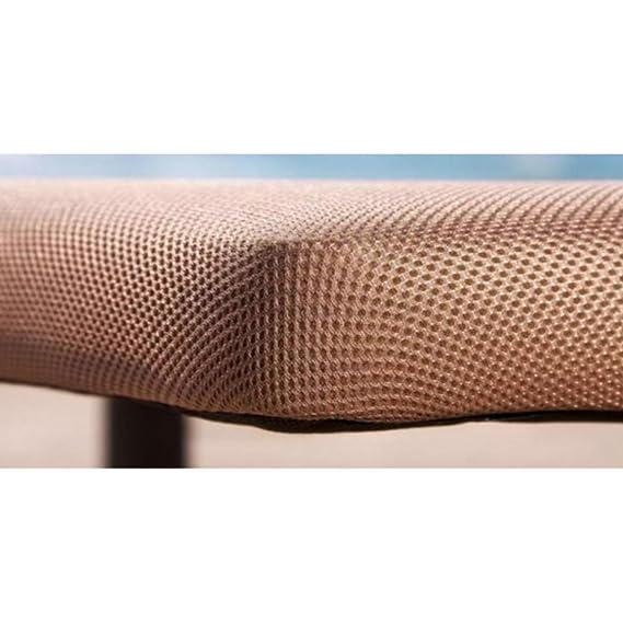 Bonitex - Base tapizada 3D 105x190cm + 6 patas, 5 refuerzos transversales, grosor 6cm, transpirable, color beige: Amazon.es: Hogar