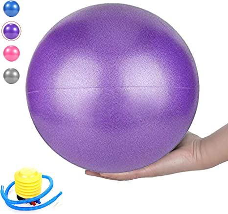 Pelota de pilates, bola Barre, mini pelota de ejercicio, 23 cm ...