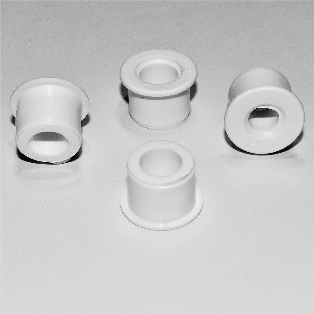 Rela, 2 coppie di inserti WC-Sitz-Stop (da 6 mm e 8 mm) per fissare il sedile del gabinetto 2 coppie di inserti WC-Sitz-Stop (da 6mm e 8mm) per fissare il sedile del gabinetto