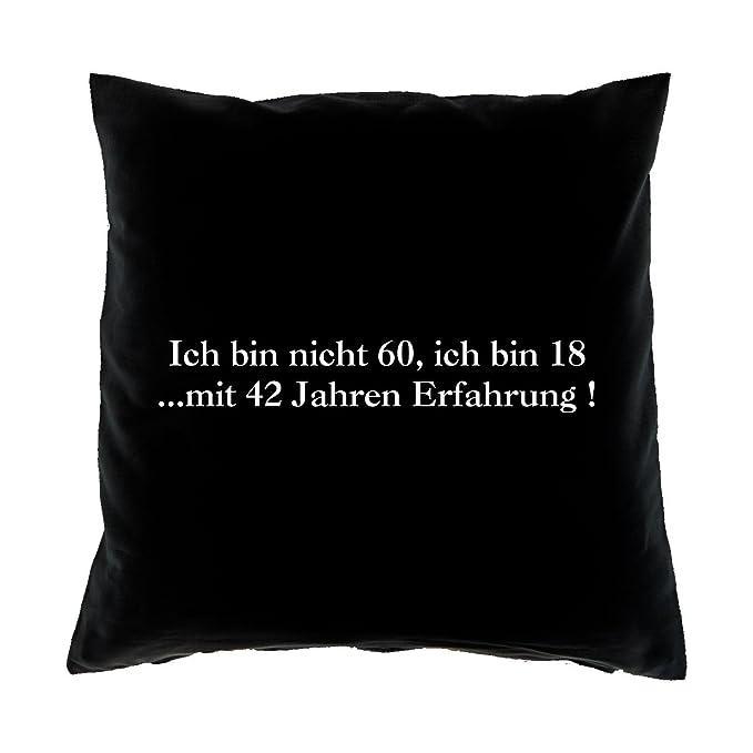 60geburtstag Lustige Geschenk Sprüche Kissensofakissen