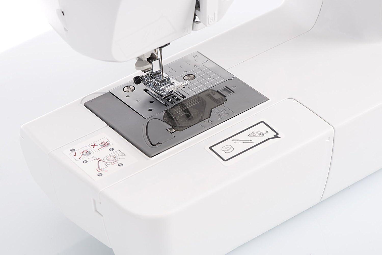 - Elektronische N/ähmaschine mit 70 N/ähstichen Patchwork Edition Brother CX70PE Nutz- Elastisch- und Dekorativstiche automatisches N/ähen Multifunktionsdisplay