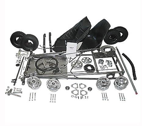 """Azusa Go Kart Kit con 5 ruedas de aluminio """" ..."""
