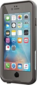Lifeproof FRĒ SERIES iPhone 6/6s Waterproof Case - Retail Packaging - GRIND (DARK GREY/SLATE GREY/SKYFLY BLUE)