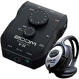 Zoom U22 USB Audio-Interface Inkl Ableton Live Lite + KEEPDRUM Kopfhörer