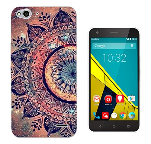 002911 – Paisley Aztec Henna Pattern Colourful Design Vodafone Smart ultra 6 Fashion Trend CASE Gel Rubber Silicone All Edges Protection Case Cover