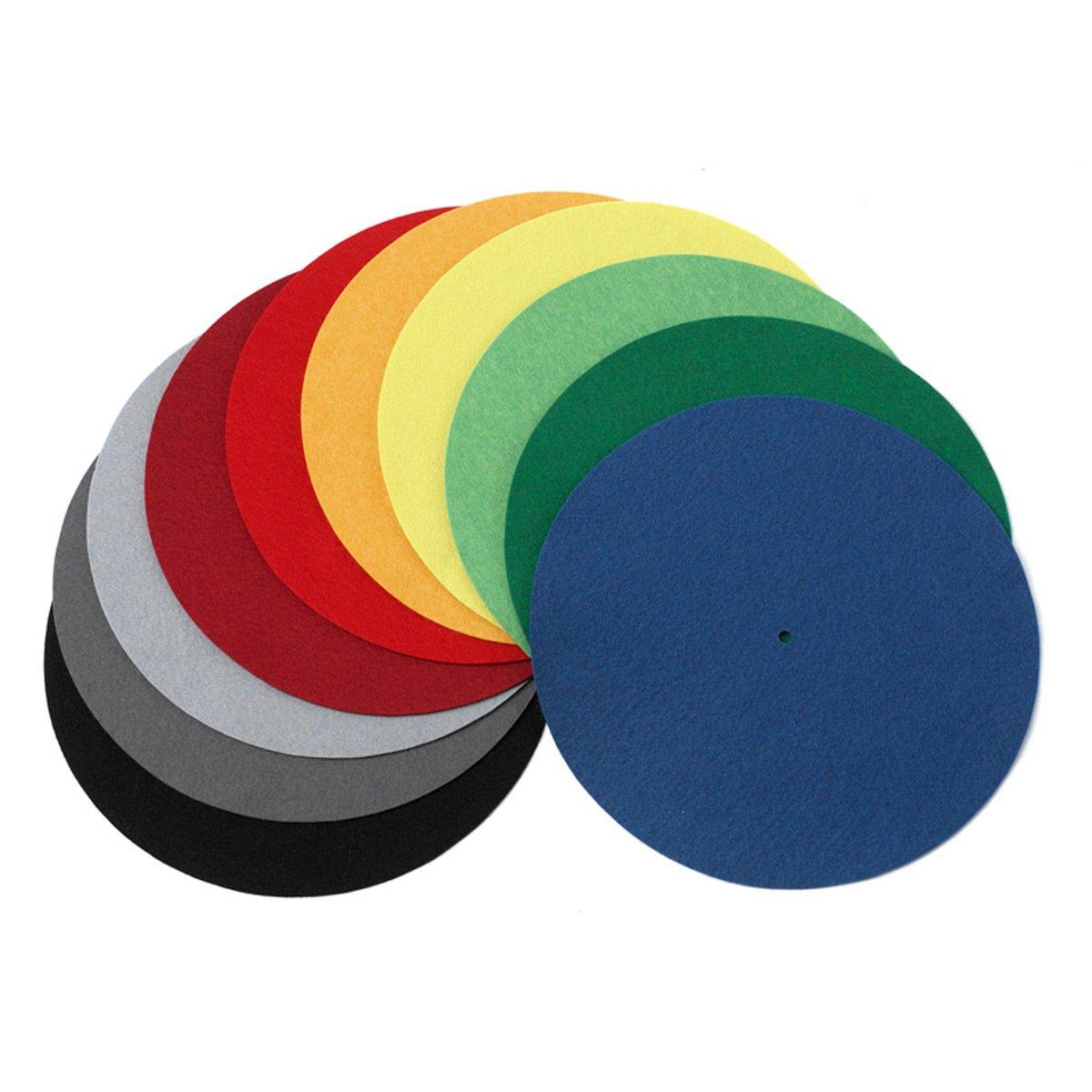 Pro-Ject Felt Turntable Mat in Designer Colors (Orange)