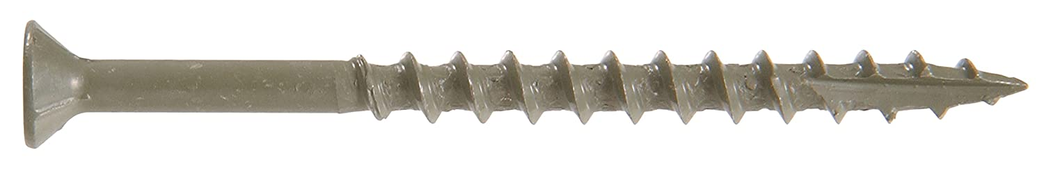 Hillman 48269 Green Painted Square Drive Deck Screw 10 X 3-1//2-Inch 200 pack The Hillman Group