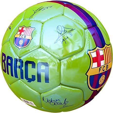JOSMA SPORT - Balón Grande F.C. Barcelona Away 18/19 Verde: Amazon ...