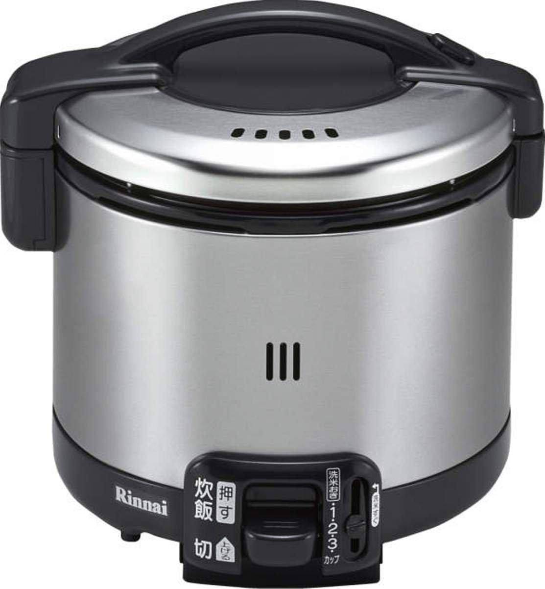 リンナイ ガス炊飯器(プロパンガス用) 【こがまる】 0.5~3.5合 ブラック RR-035GS-D-LP   B009PIBM6Y