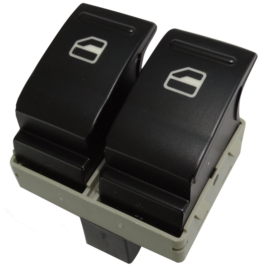 Aerzetix Commodo interrupteur bouton l/ève-vitres compatible 7E0959855A C16206