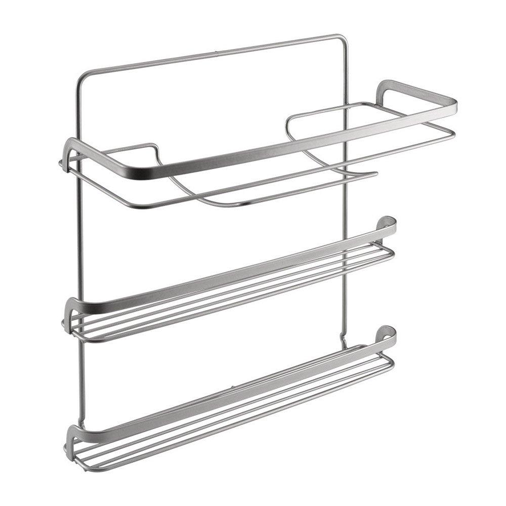 Metaltex serie Eureka! - Porta rotoli da cucina a 3 piani - (350424)