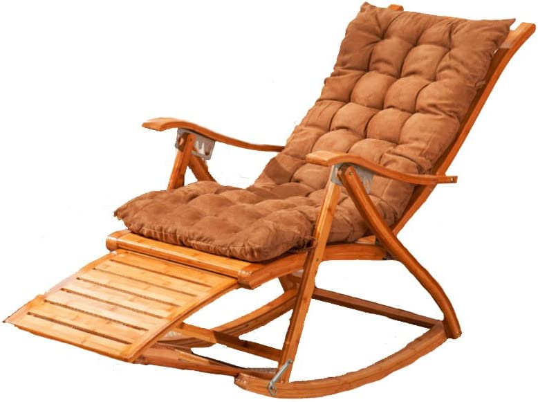 Tommy Bahama Outdoor Cushions, Amazon Com L J Chaise Lounges Rocking Chair Patio Lounger Chair Old Man Bamboo Folding Chairs Summer Nap Bed Load 400kg For Patio Office Beach Outdoor Swimming Pool 6 Stalls Adjustable A Sports Outdoors