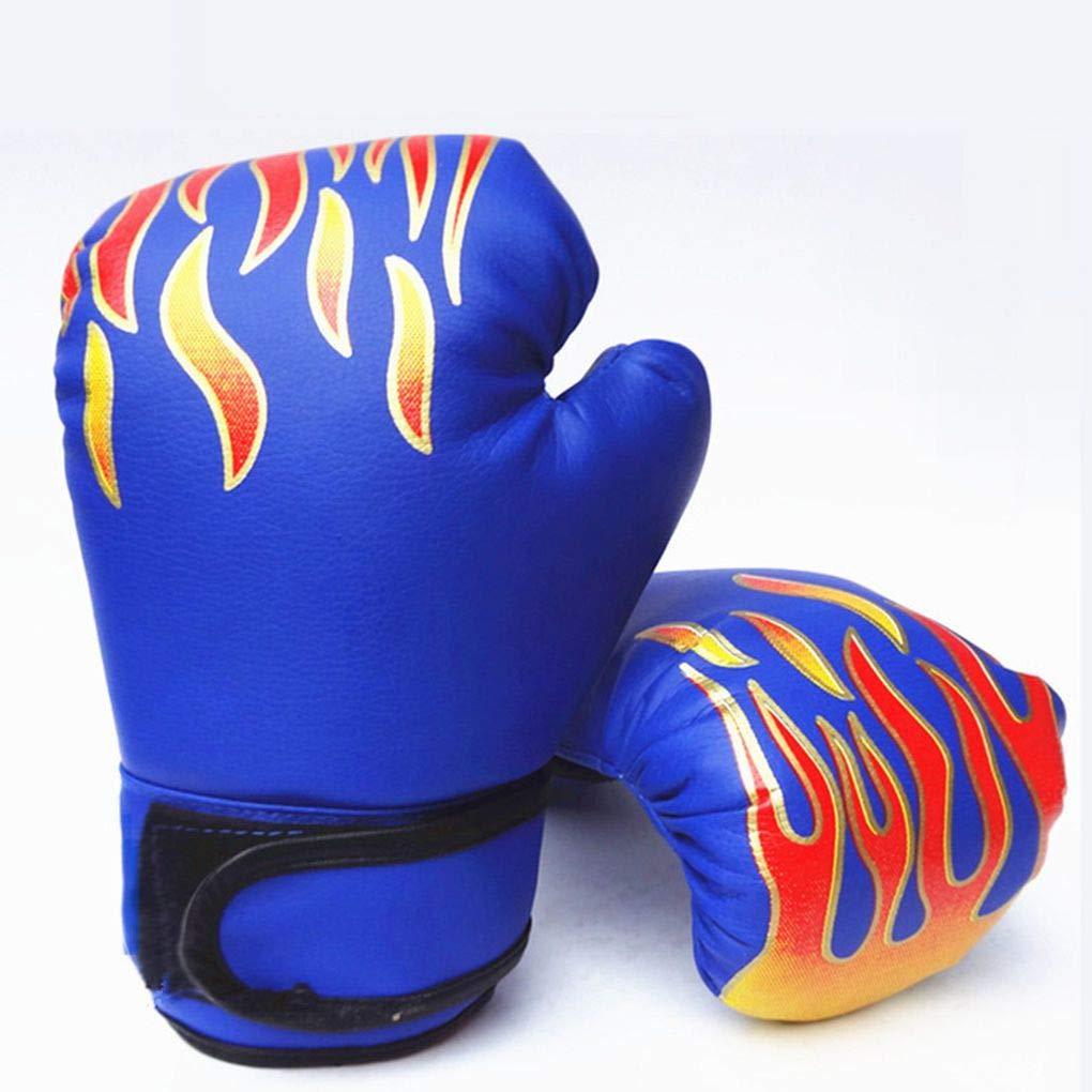 Uzinb Kids Children Kickboxing Training Gloves Punching Sandbag Sports Fighting MMA Boxing Glove