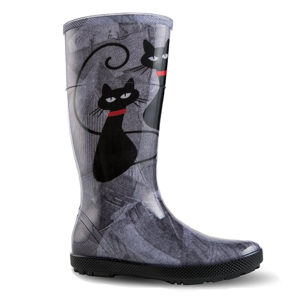 Demar Hawai Bottes en caoutchouc B01MSHSFAW bottes de pluie Hawai Lady Chat Exclusive Chat f7b60d5 - latesttechnology.space