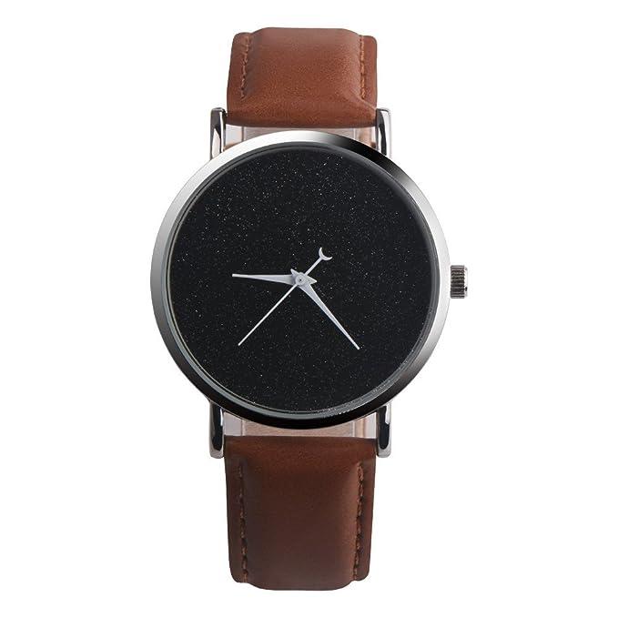 Coconano Relojes Mujer Baratos, Reloj de Cuarzo Analógico de Cuero Sintético Para Mujer Paphitak: Amazon.es: Ropa y accesorios
