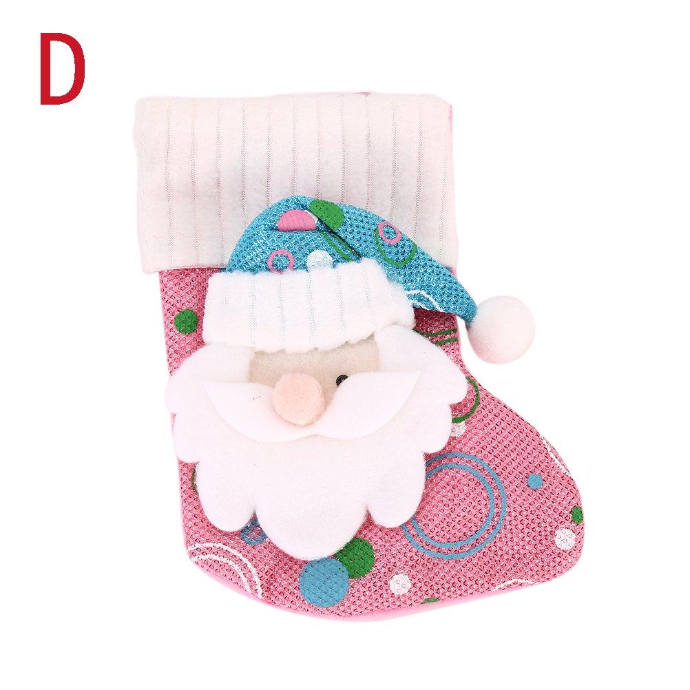 tuantuan medias de Navidad Papá Noel Muñeco de nieve bolsa de regalo ...