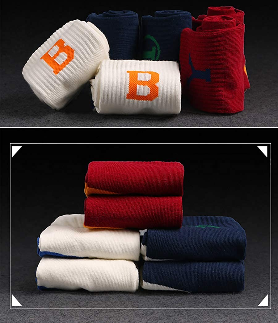 3 Pack Lerbe Mens Basketball Athletic Cushioned Sports Outdoor Socks