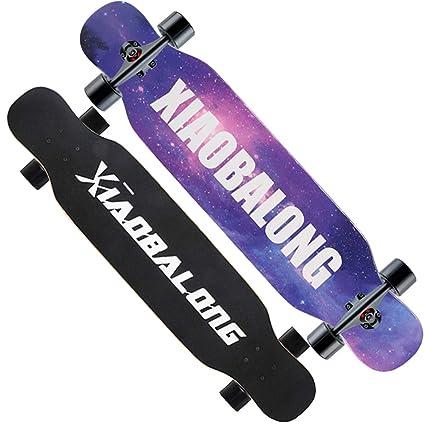 Skate Park, Scooter De Cuatro Ruedas para Principiantes Adulto Niños Y Niñas Road Brush Street