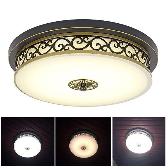Lámpara De Techo Regulable LED 34W, Lámpara De Sala De Estar ...
