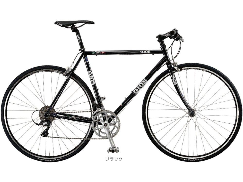 GIOS(ジオス) 2018 AMPIO アンピーオ(CLARIS 2x8速)クロスバイク700C <ブラック> B078MTFK3K470mm
