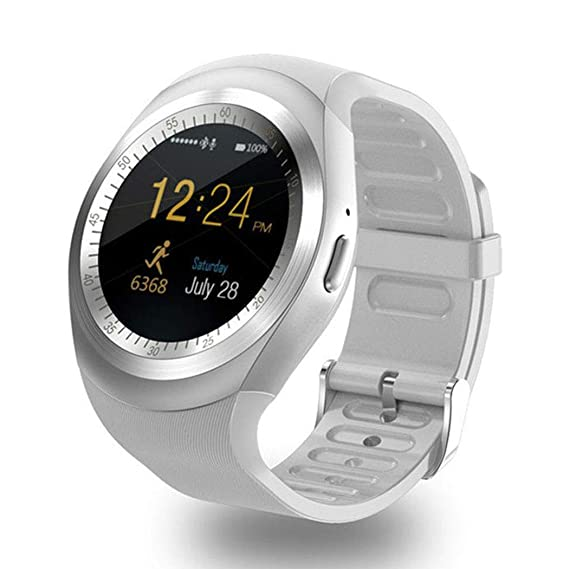 Amazon com: Smart Sport Watch Y1 Bluetooth for Android