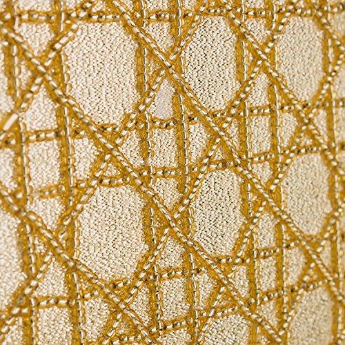 Farfalla - 90031, Borsa a tracolla donna, color D'Oro (Gold), talla unica