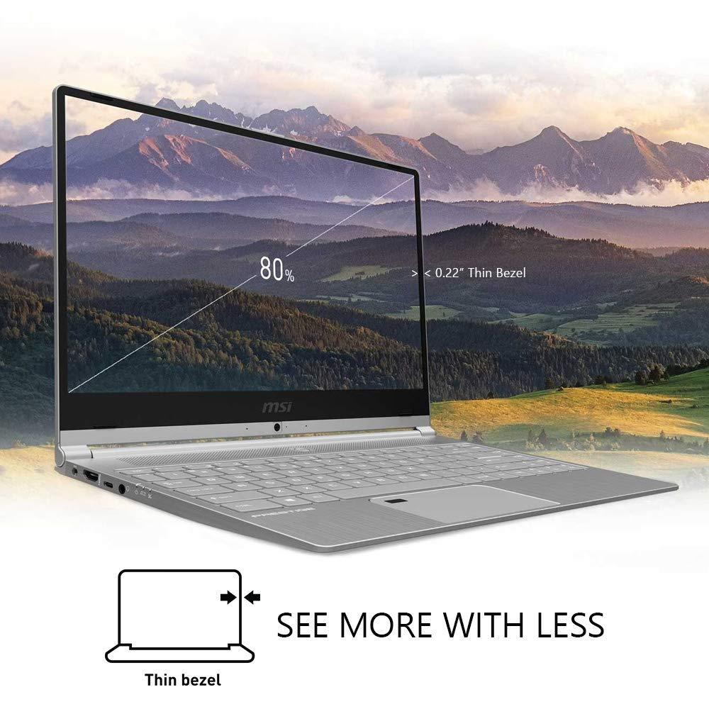 MSI PS42 8RB-059 14 Professional Thin Bezel Laptop i7-8550U GeForce MX150 2G GDDR5 16GB RAM 512GB SSD