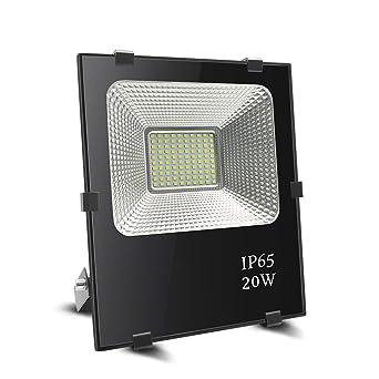 Foco led 20w, BeiLan Proyector LED Foco exterior Super brillante ...