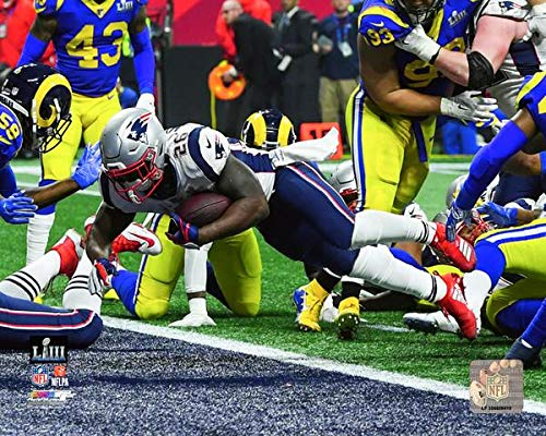 (Patriots Sony Michel Super Bowl LIII Game-Winning Touchdown 8
