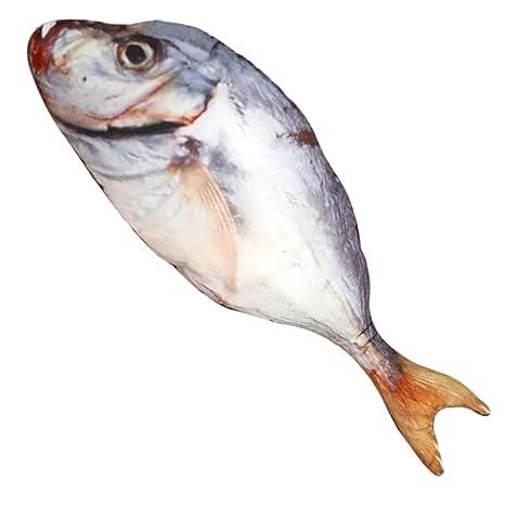 Tee-Moo Almohada de Juguete de Peluche con Forma de pez de ...
