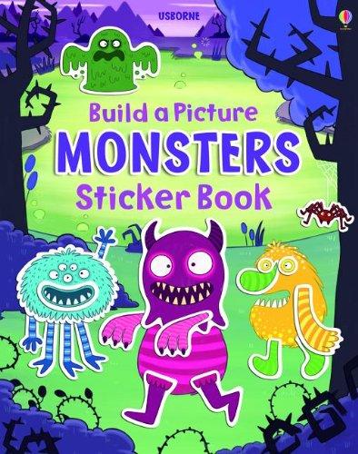 Build a Picture Monsters Sticker Book (Build a Picture Sticker Books) pdf epub