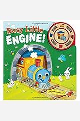 Busy Little Engine: Interactive Children's Sound Book (1 Button Sound) (Early Bird Sound Books) Board book