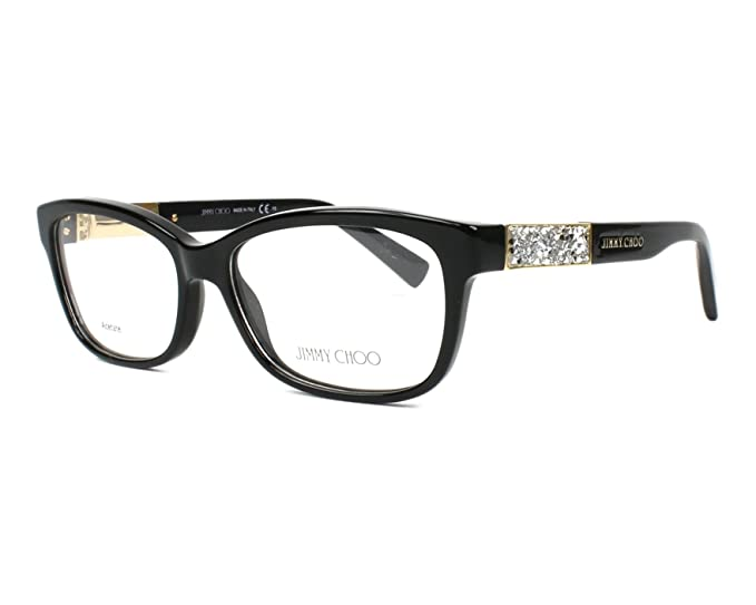 d8deb050202 Image Unavailable. Image not available for. Colour  JIMMY CHOO Eyeglasses  ...
