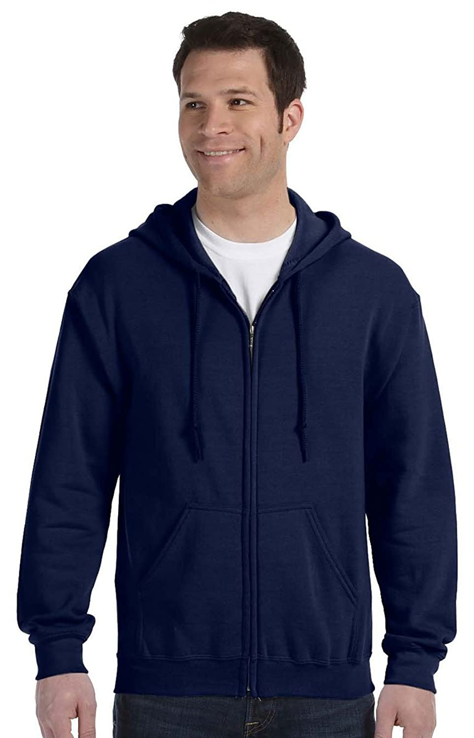 �Gildan Adult Heavy Blend� Full-Zip Hooded Sweatshirt (Navy) (4X-Large)