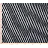 Black Medium Hole Fishnet Fabric 4 Way Stretch Nylon 58-60""