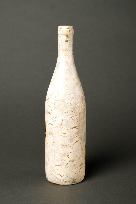 Botella de vidrio para vino hecha a mano regalo original ...