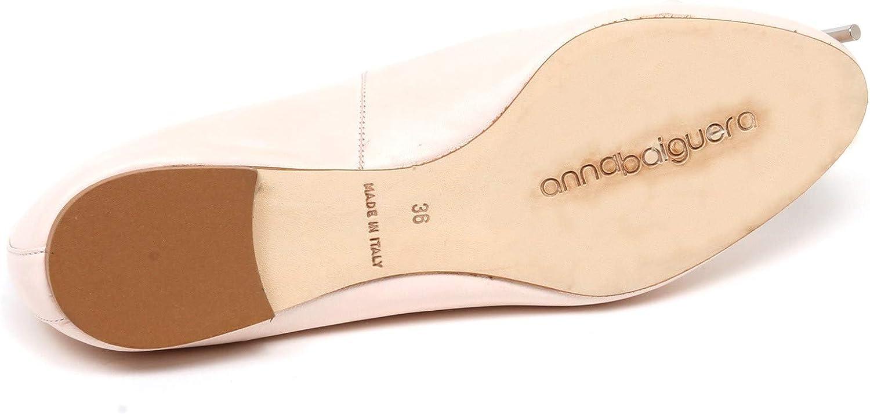 Anna Baiguera F3736 Ballerina Donna Light Pink Annaflex Scarpe Shoe Woman Rosa Chiaro