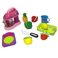 Set de Cocina de Juguete con Batidora electrica y variedad de alimentos y accesorios.