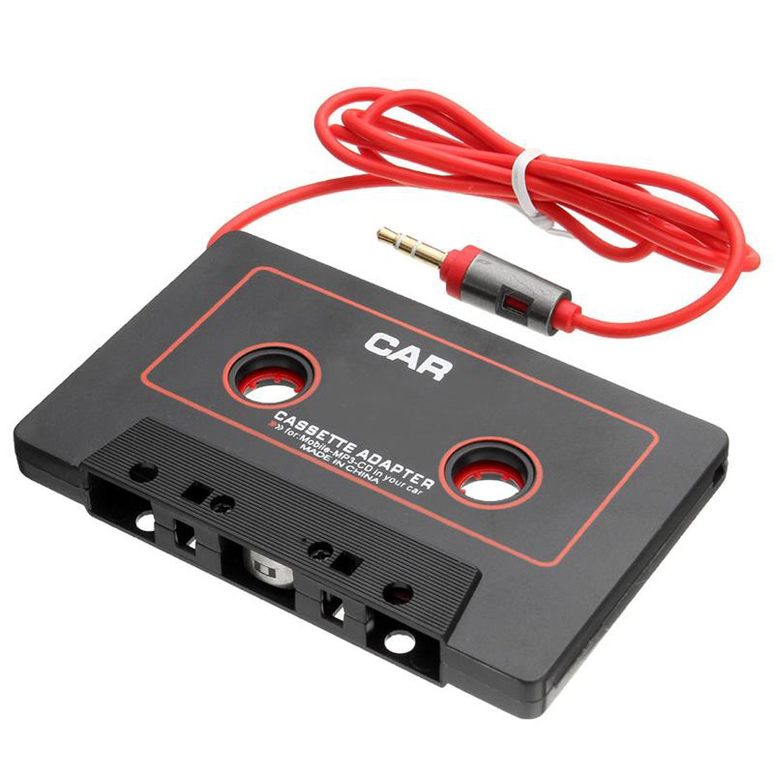 CD MP3 Players Alotm Universal Car Audio Cassette Player Adapter Converter with 3.5mm Jack Compatible All Smartphoen Android Phones