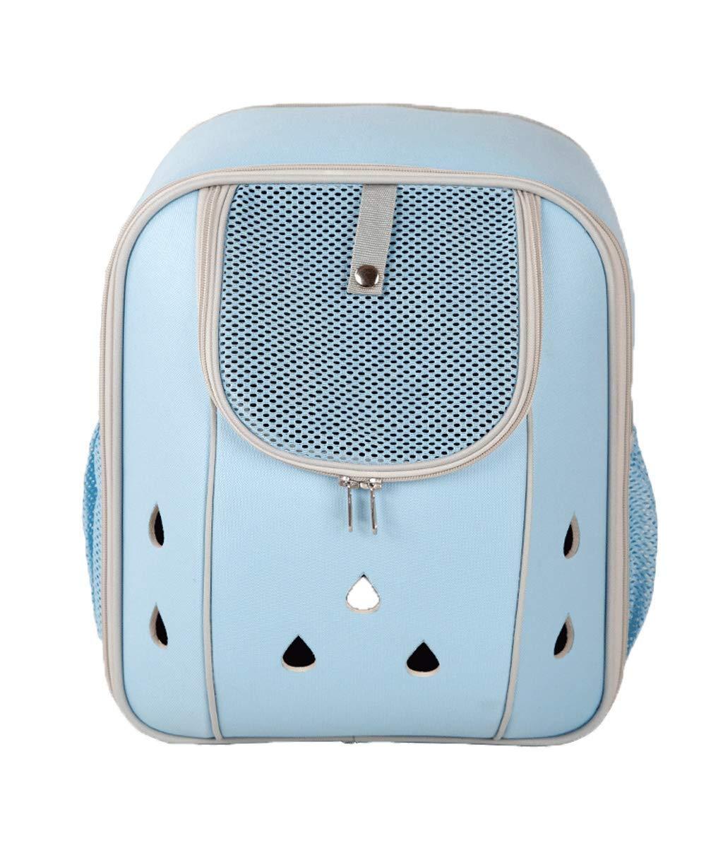 LXYUCWB Mochila para Mascotas de Viaje al Aire Libre Mochila para Gatos, cápsula Espacial, Gato, Mochila para Cachorros (Azul): Amazon.es: Jardín