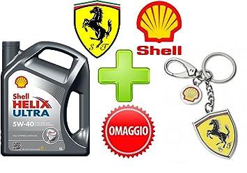Shell Helix Ultra 5W40 - Bidón (5 litros) de aceite para ...