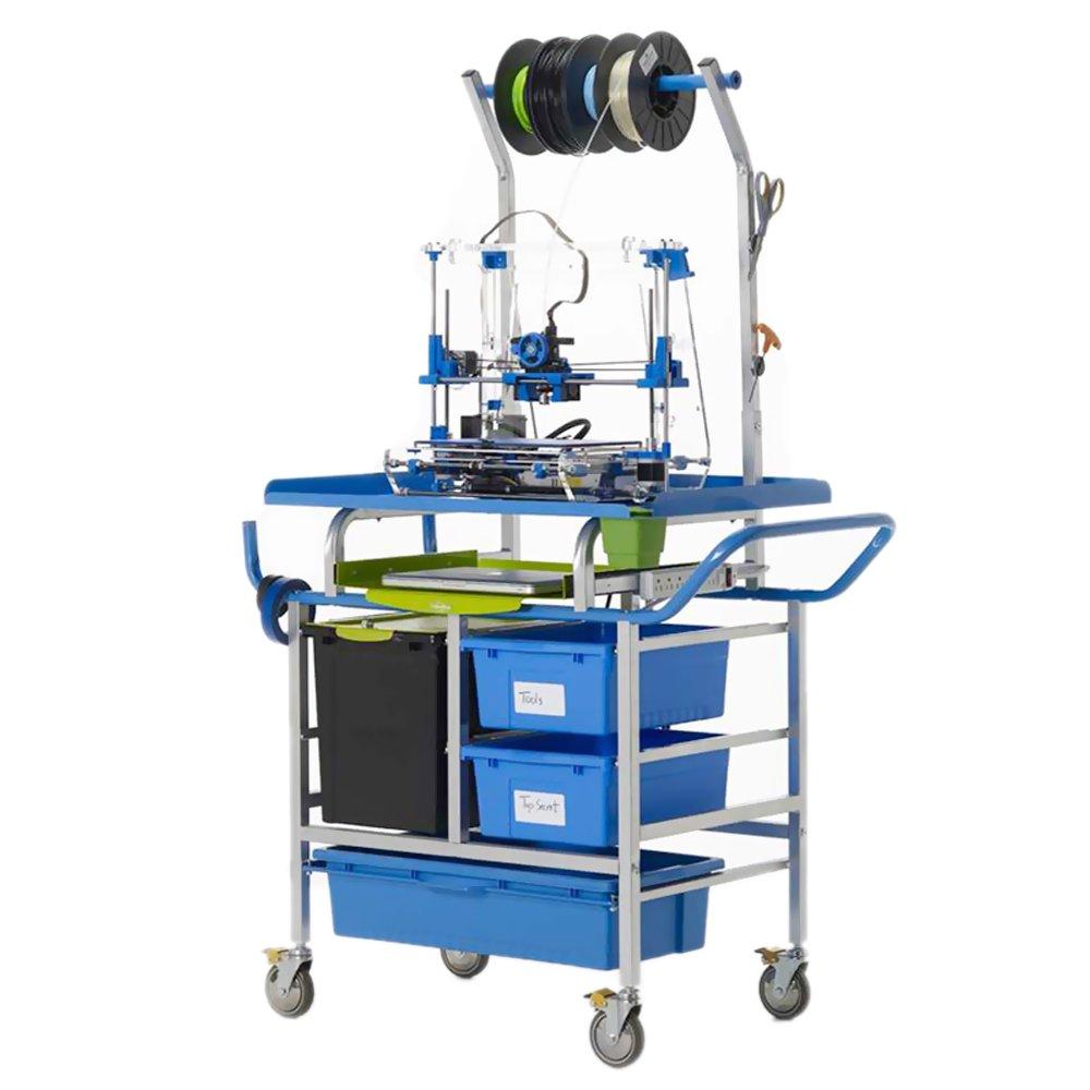 Copernicus School Classroom Office 3D Printer Cart - Premium Model