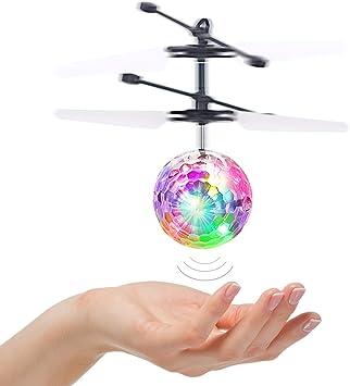 Tesoky Juguetes Niños 5-12 Años, LED Bola Voladora para Niños ...