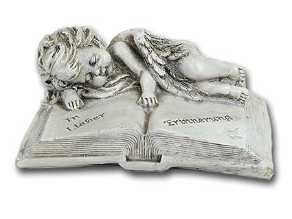 Grab-deko Friedhofs-deko Buch