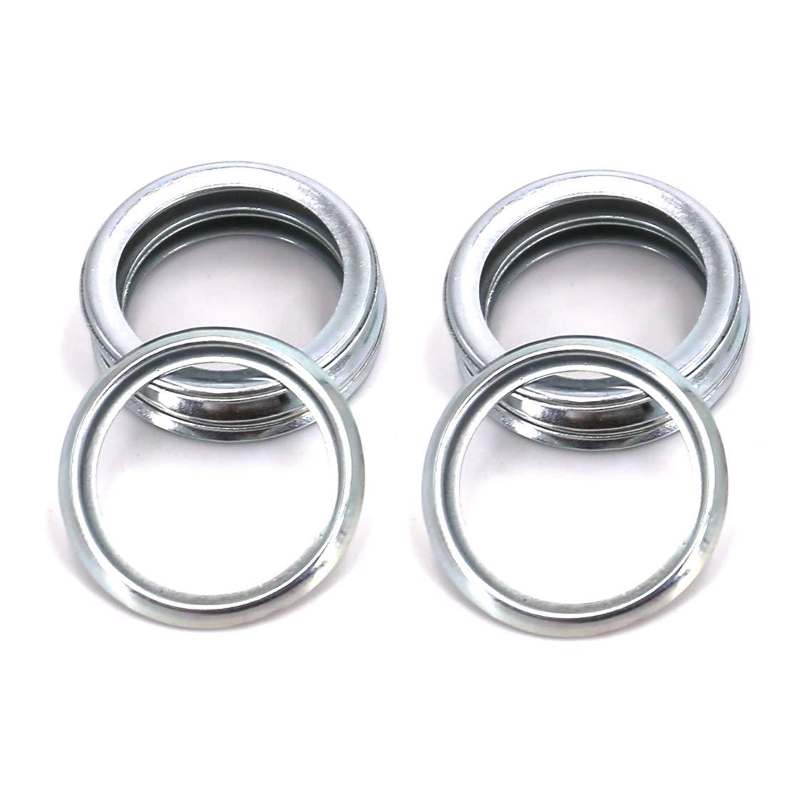 UTSAUTO Oil Drain Plug Gaskets Crush Washers Seals Rings Part # 11126AA000 for Subaru 20 Pack