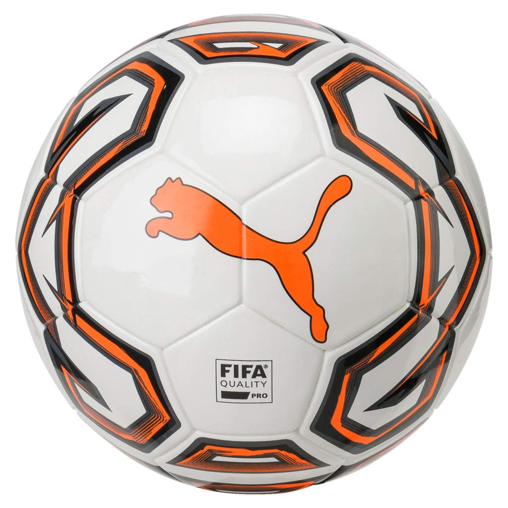 Unisex Adulto 4 White//Shocking Orange Black Puma Futsal 1 FIFA Quality Pro Bal/ón de F/útbol