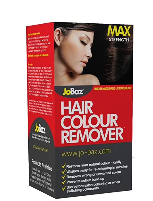 JoBaz Hair Colour Remover Extra Strength Removes Darker Shades & Colour  Build Up