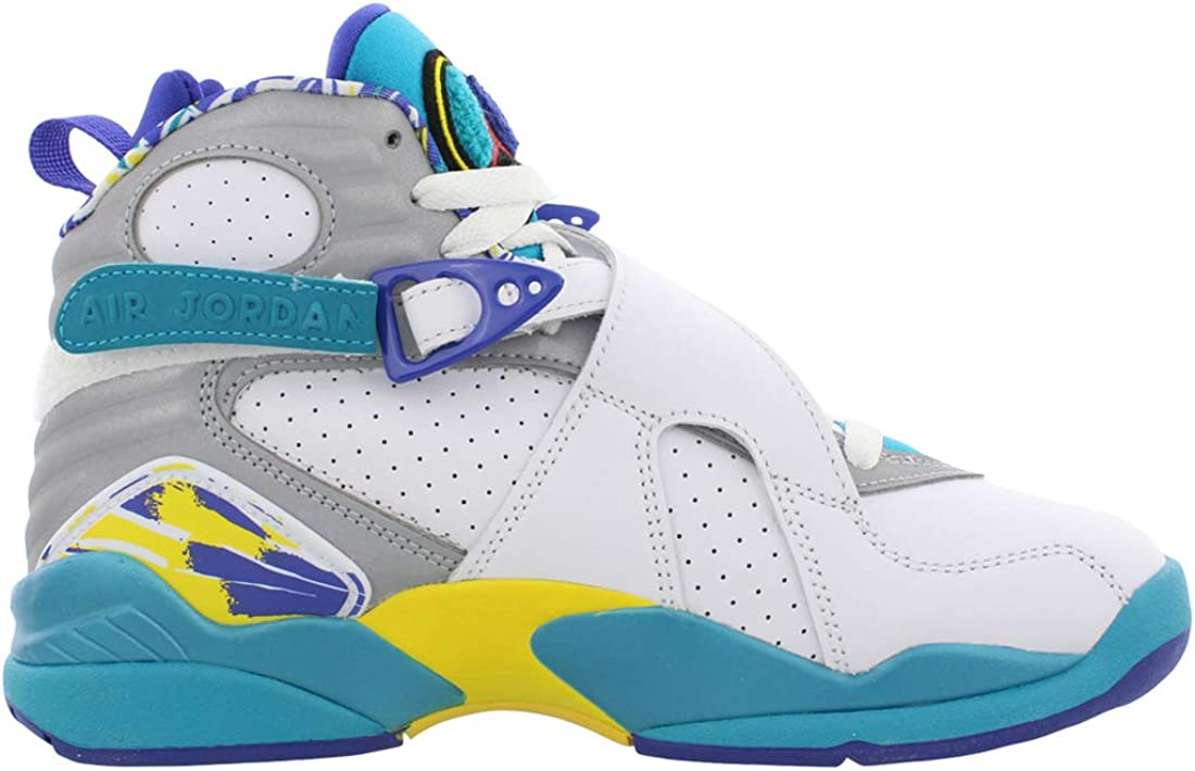 Wmns Air Jordan 8 Retro 'White Aqua'