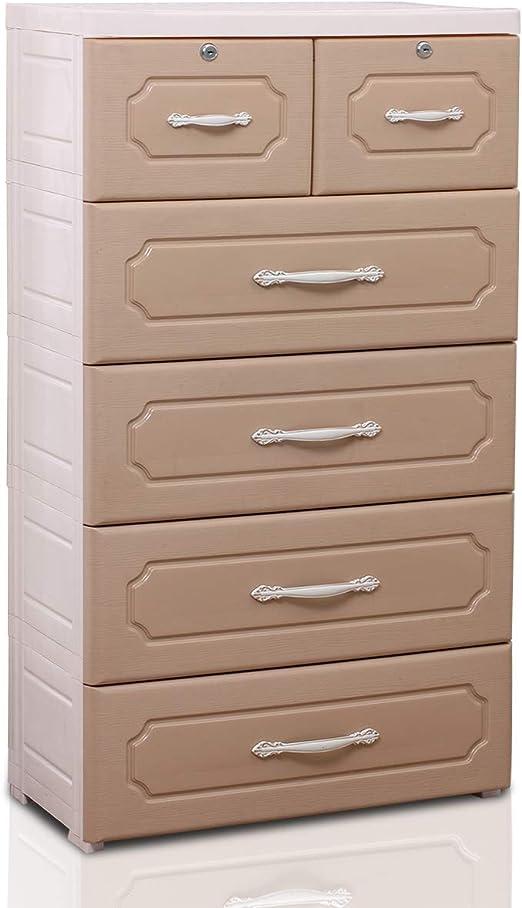 Amazon Com Nafenai Bedroom Tall Dresser With Locks 6 Large