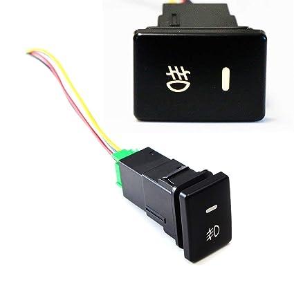 Amazon com: iJDMTOY (1) Factory Style 4-Pole 12V Push Button Switch